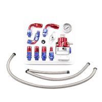 Car Modification Accessories Power Fuel Booster Fuel Adder Pressure Regulator Car Fuel Pressure Regulator Turbocharger     -