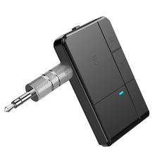 цена на Bluetooth 5.0 Receiver 3.5mm Jack Earphone Wireless Adapter Bluetooth Aux Audio Music Receiver For car stereo