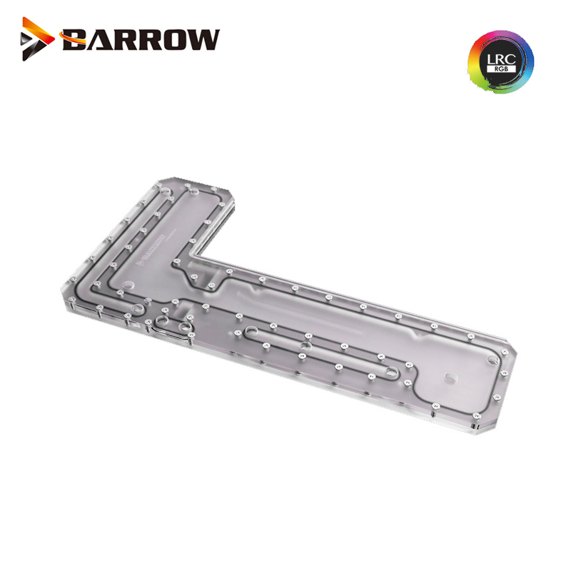 Barrow LRC RGB Acrylic Distro Distribution Plate Waterway Boards Waterway Boards for Computer TT Core P5 Water Cooling Kit Case