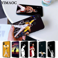 The Freddie Mercury Queen band Silicone Case for Redmi Note 4X 5 Pro 6 5A Prime 7 8