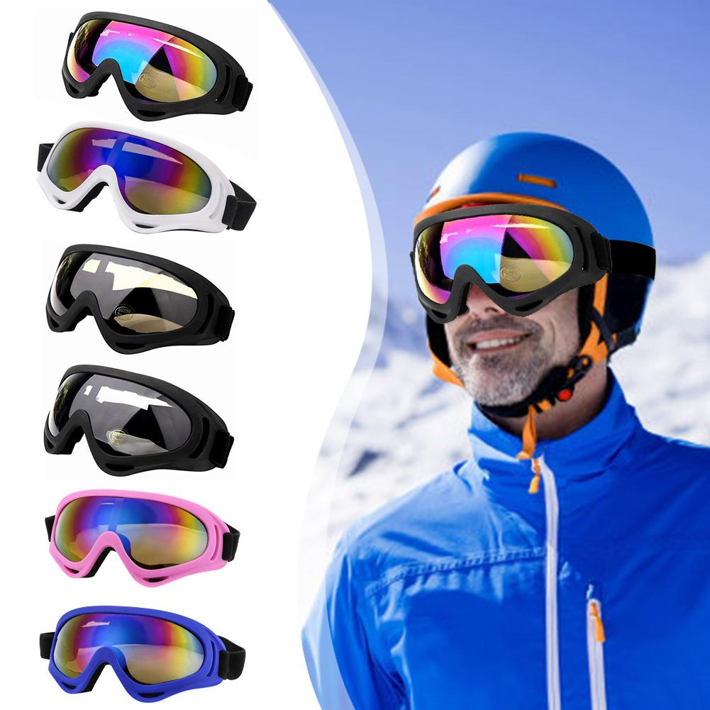 2/4 Pairs Ski Goggles Winter UV400 Windproof Dustproof Glass Eyewear For Cycling Skiing Climbing Sportswear Accessories