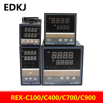 цена на REX-C100-C400-C700-C900 Thermostat RKC PID Digital intelligent Industrial temperature controller 220V RELAY  SSR Relay output