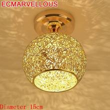 Vintage Plafon Deckenleuchte Celling For Living Room Lustre Luminaire Crystal LED Plafonnier De Lampara Techo Ceiling Light