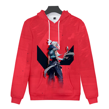 Personality 3D Game Valorant hoodies New Boys/girls games hoodie Teenage Long sleeves Men/women Autumn Valorant Casual Clothes 1