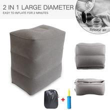 Portable Travel Footrest Pillow…