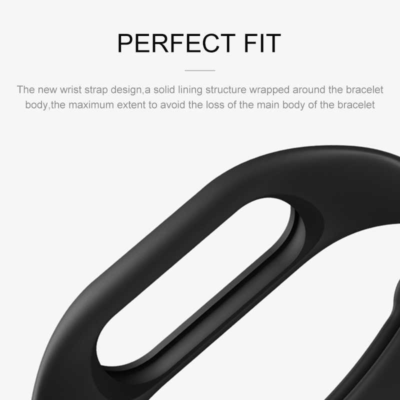 Smart bracelet Strap On For Mi band 2 Replacement Belt Silicone Wristband Mi Band 2 for Xiaomi Accessories xiomi Miband2 band2