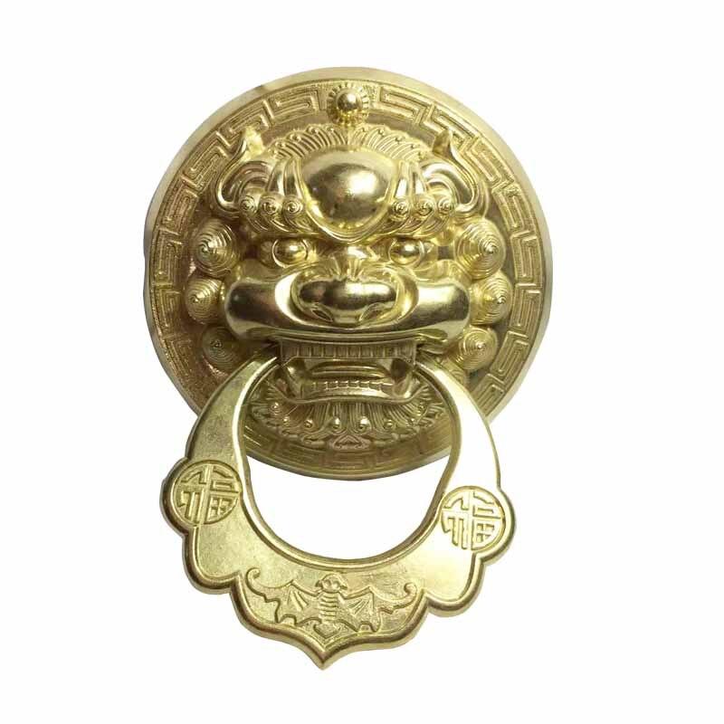 Casting Lion Head Door Knocker
