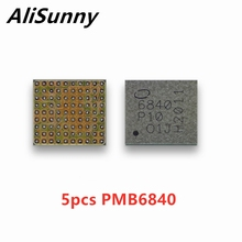 AliSunny 5PCS PMB6840 6840 Baseband כוח IC עבור iphone 11 11Pro ProMax PMU PMIC כוח אספקת PM IC שבב