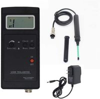 SJ200 Digital Gauss Meter Static Magnetic Field Tesla Tester 0 200Mt 2000mT with Adapter and Carrying Box Y
