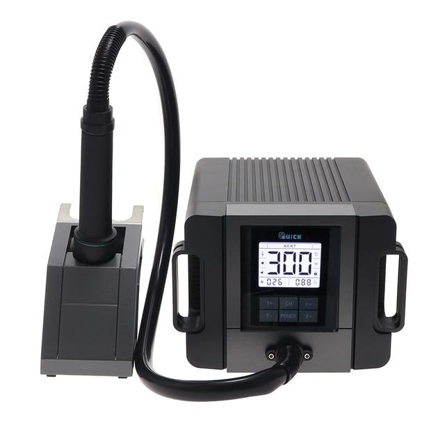 RAPIDO TR1300A intelligente stazione di saldatura ad aria calda del telefono mobile di riparazione pistola ad aria calda di saldatura demolizione 1300W stazione di rilavorazione