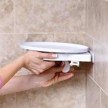 Banheiro 360 graus de rotação triângulo prateleira toalete instahang rotativo prateleira canto prateleira do banheiro rack armazenamento cozinha