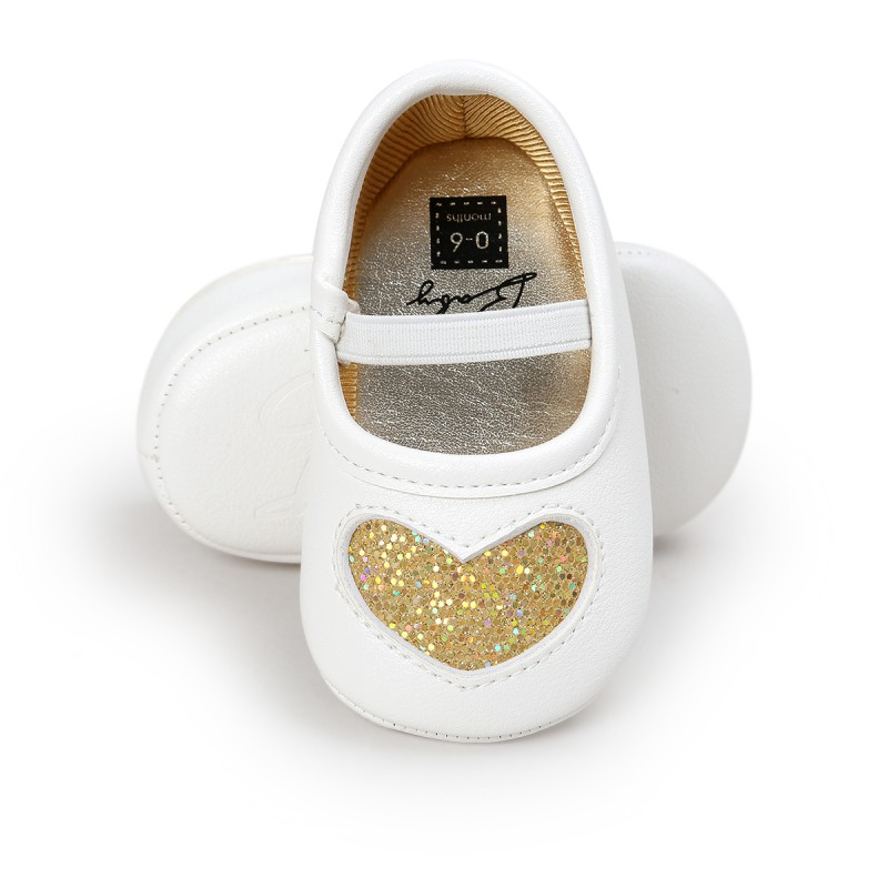 Newborn Baby Girls Dance Shoes Princess First Walkers Soft Soled Infant Toddler Baby Shoes
