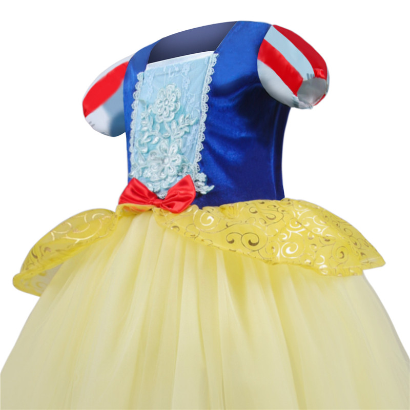 H3ce59ea960a74207b92461273ddc13d1X 2019 Children Girl Snow White Dress for Girls Prom Princess Dress Kids Baby Gifts Intant Party Clothes Fancy Teenager Clothing