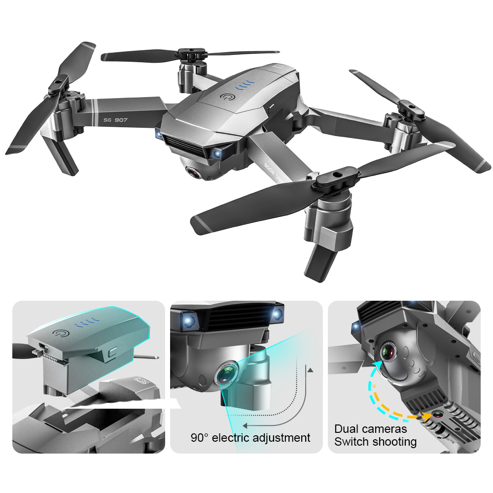 SHAREFUNBAY SG901 / SG907 Drone GPS HD 4k Camera 5G WiFi fpv Quadcopter Flight 20 Minutes Video Recording Live Drone and Camera