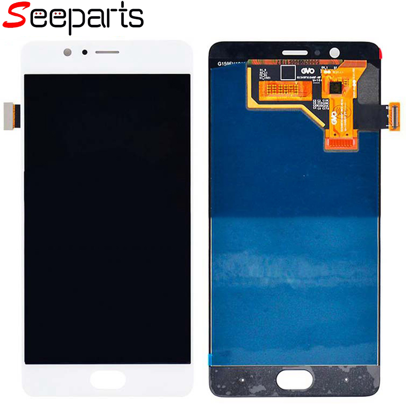 "For 5.5"" ZTE nubia M2 NX551J LCD Display Touch Screen Digitizer Assembly Replacement Parts Nubia M2 LCD Screen Black/White(China)"