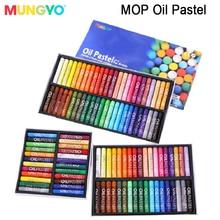 MUNGYO Mop 24/36/48/72 colors Artists Oil pastels  series  Oil paint high quality ART drawing pastels