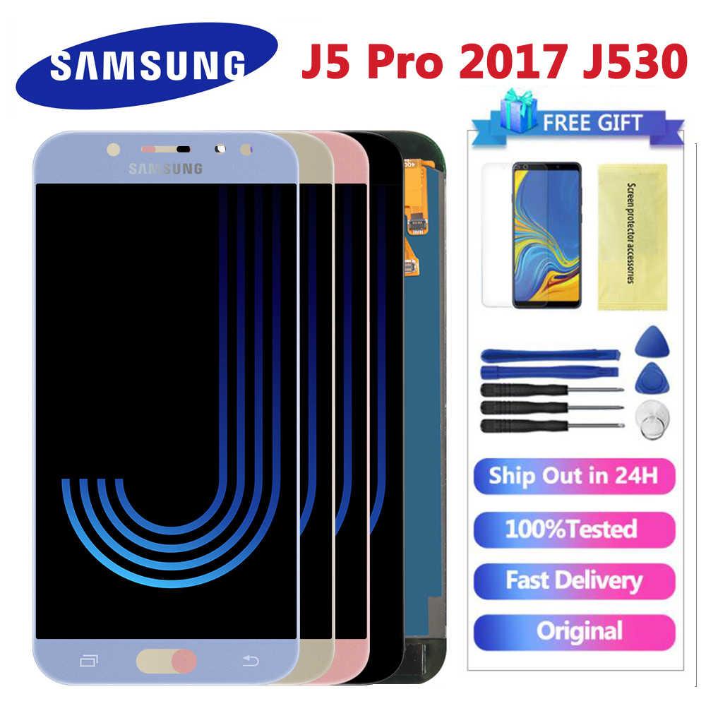 5.2 ''LCD Dành Cho SAMSUNG GALAXY J5 2017 J530 J530F SM-J530F Màn Hình Hiển Thị LCD Bộ Số Hóa Màn Hình Cảm Ứng Cho Samsung J5 Pro có Thể Điều Chỉnh Màn Hình Hiển Thị