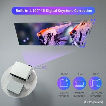 Светодиодный проектор WZATCO C3 4D Keystone 5