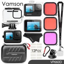 Vamson Waterproof Housing Case for GoPro Hero 9 Black Diving Protective Underwater Dive Cover for Go Pro 9 Accessories VP660 cheap CN(Origin) Waterproof Housings