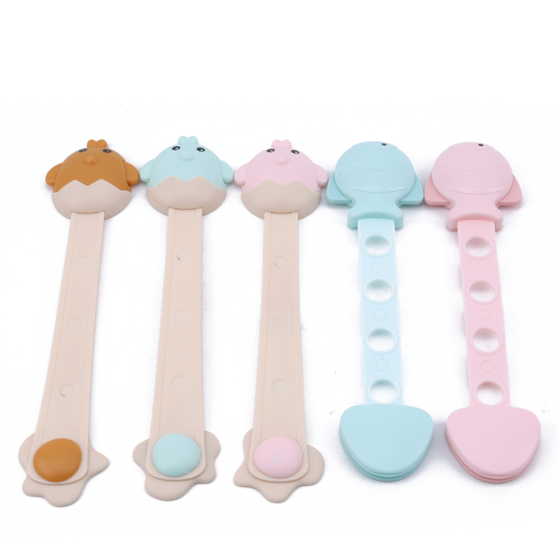 Baby Safety Lock Cute Cartoon Cabinet Drawer Door Fridge Blockers Plastic Lock For Kids Safety Protection Cover Lock