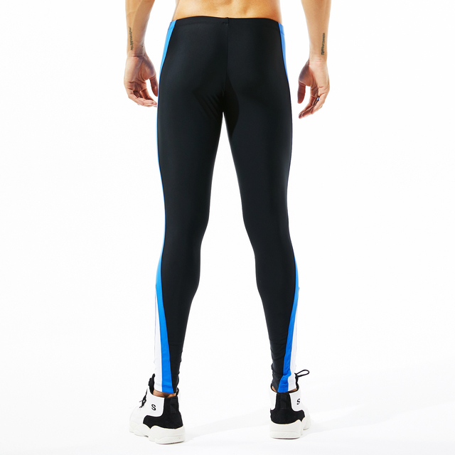 Tights Man's Stretch Workout Fitness Long Leggings Compress Fitness Long Johns Quick Drying Sexy Casual lounge Home and Out Door 2