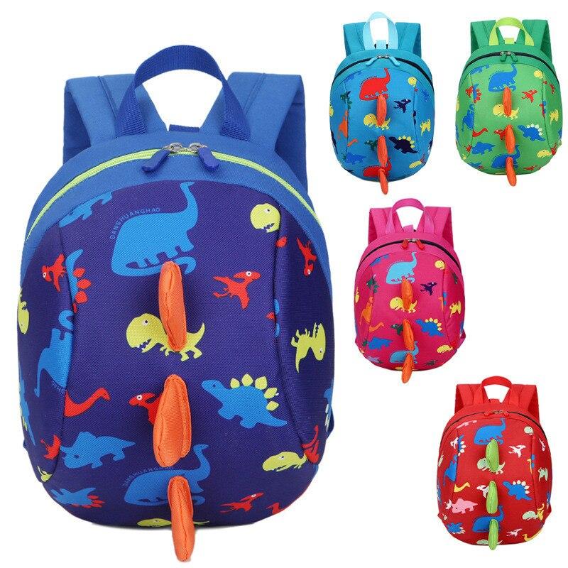 Anti-lost Kids Kindergarten Backpack Children School Bags For Boys Girls Nursery Baby Satchel Mochila Infantil Preschool Bags