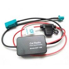 Antena fm amplificadora de sinal de rádio, antena ant-208, amplificador de sinal de rádio fm para conector