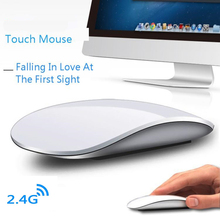 CHYI Magic Wireless Computer Mouse For Apple Macbook Ergonomic Arc Touch 3D Slim Optical Usb Mause Ultra Thin PC Laptop Mice 2 slim silent touch usb wireless mouse for mac apple laptop pc microsoft windows computer mice 1200 dpi 2 4g ergonomic magic mouse