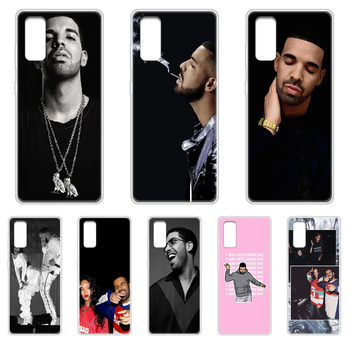 Rapper Aubrey Drake Graham Phone Case cover hull For SamSung Galaxy S 6 7 8 9 10 20 Edge Plus E Lite 5G Ultra transparent bumper image