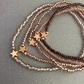Трендовые женские богемные браслеты для девушек Набор браслетов винтажная бусина Boho Charm браслеты для девушек ювелирные аксессуары 2020 New
