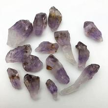 raw amethyst super 7 power stone mineral specimen quartz healing crystal wicca collection gemstones tumbles