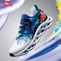 Li-ning hombre LN ARC Cushion zapatillas para correr Mono transpirable forro de hilo usable estable apoyo calzado deportivo zapatillas ARHP073 XYP930