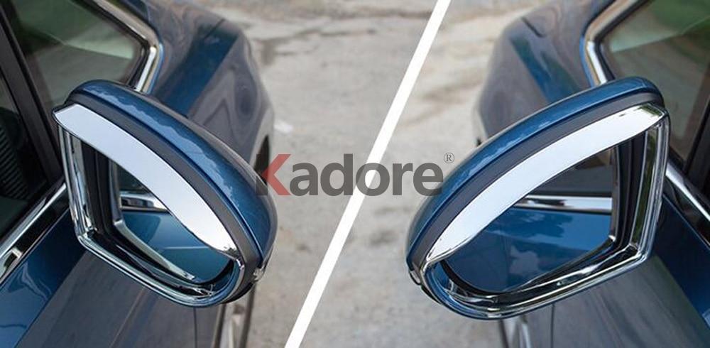 Car Rearview Side Mirror Visor Shade Rain Guard Trim For Honda CRV 2017 2018