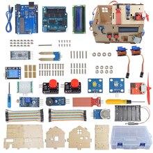 Kit de Inicio educativo inteligente para el hogar basado en UNO R3 para Arduino DIY