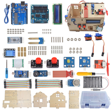 Smart Home Educational Learning Starter Kit Based on UNO R3 Board for Arduino DIY