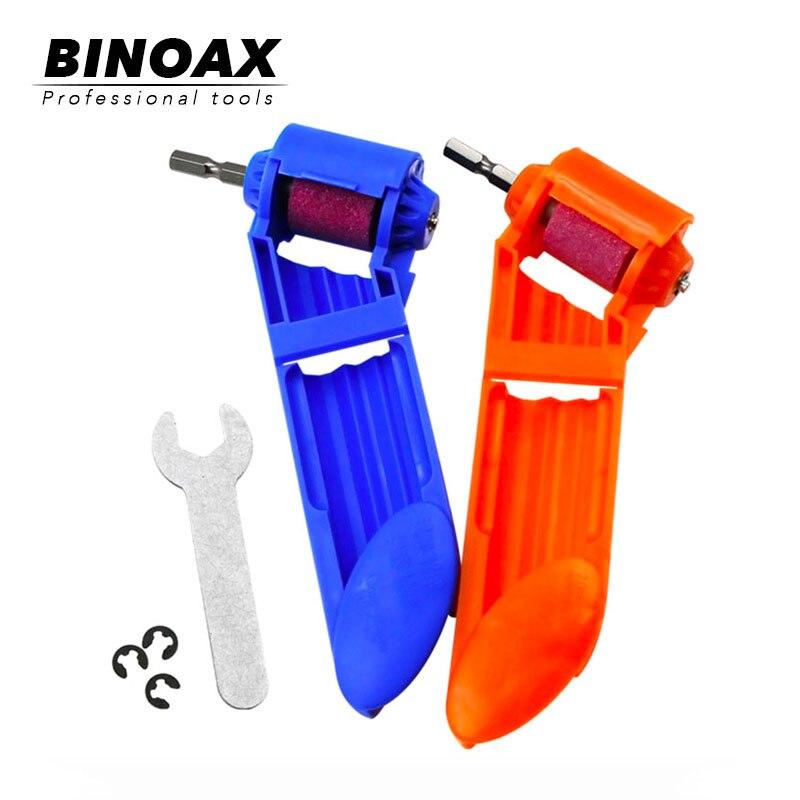 New Portable Drill Bit Sharpener Wear Resisting Corundum Grinding Wheel Electric Drill Auxiliary Tool