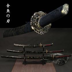 Танто/вакизаси/катана Настоящая японская самурайская меч 9260 углеродистая сталь Кованое лезвие Полное ТАН новое поступление