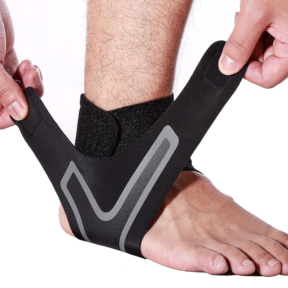 1PC Compression Ankle Protectors Anti Sprain Outdoor Basketball Football Ankle Brace Supports Straps Bandage Wrap Foot Care Tool