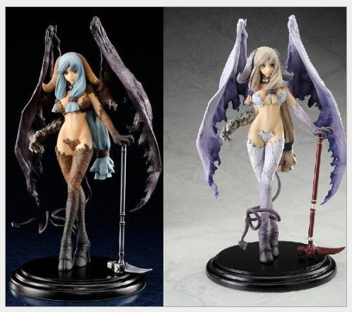 28cm Embrace Japan Sexy Diabolus Unglate Devil Anime Figures PVC Brinquedos Collection Model Toys For Children Christmas Gifts