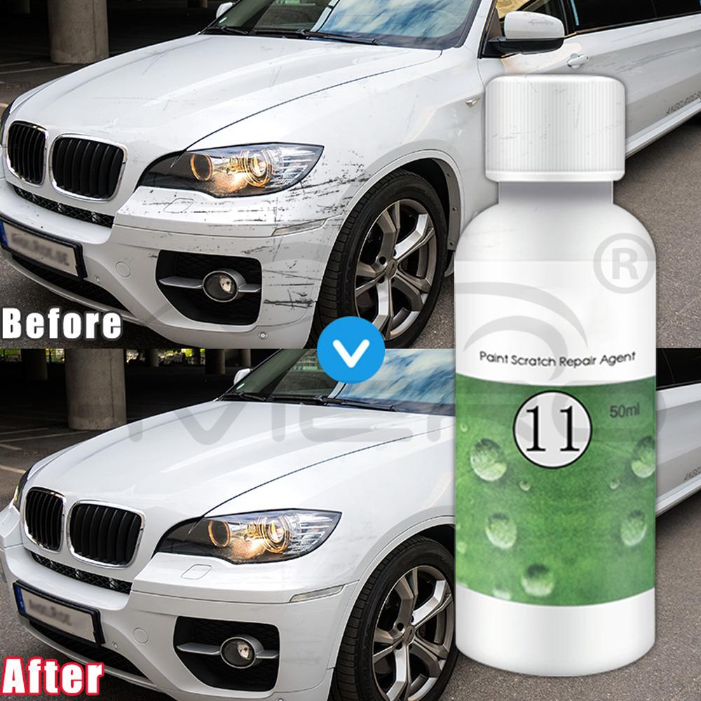 20/50ml Polishing Paste Wax Car Scratch Repair Agent Hydrophobic Paint Care Painting Waterproof Scratches Remover Glass Cleaning