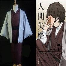 Anime stray dogs dazai osamu  kimono cosplay  Costume Kimono Uniform