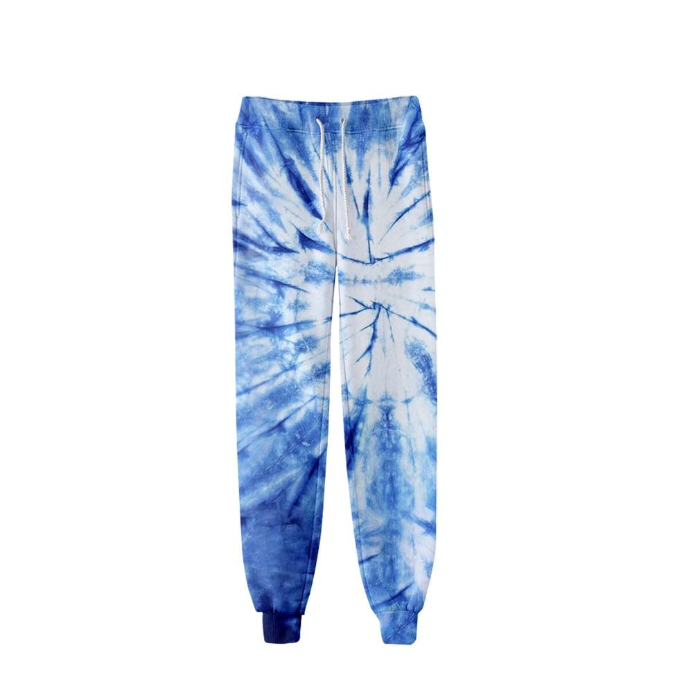 Fashion Cool Tie-Dye Colorful 3D Joggers Pant Men Women Long Loose Trousers 3D Fitness Sweatpants