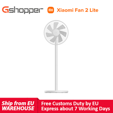 xiaomi mijia mi smart standing fan 2 lite air cooling fan 2lite height adjustable smart control with Mi Home APP air conditioner