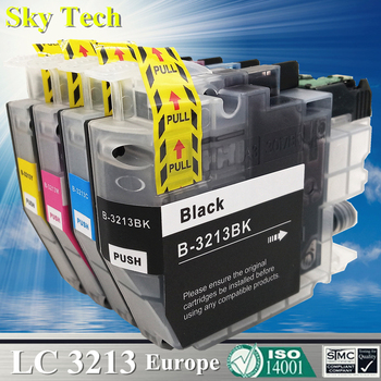 Quality Compatible Ink Cartridge For LC3213 LC3211 , For Brother J572DW J772DW J774DW J491DW J497DW J890DW J895DW Etc [Europe]
