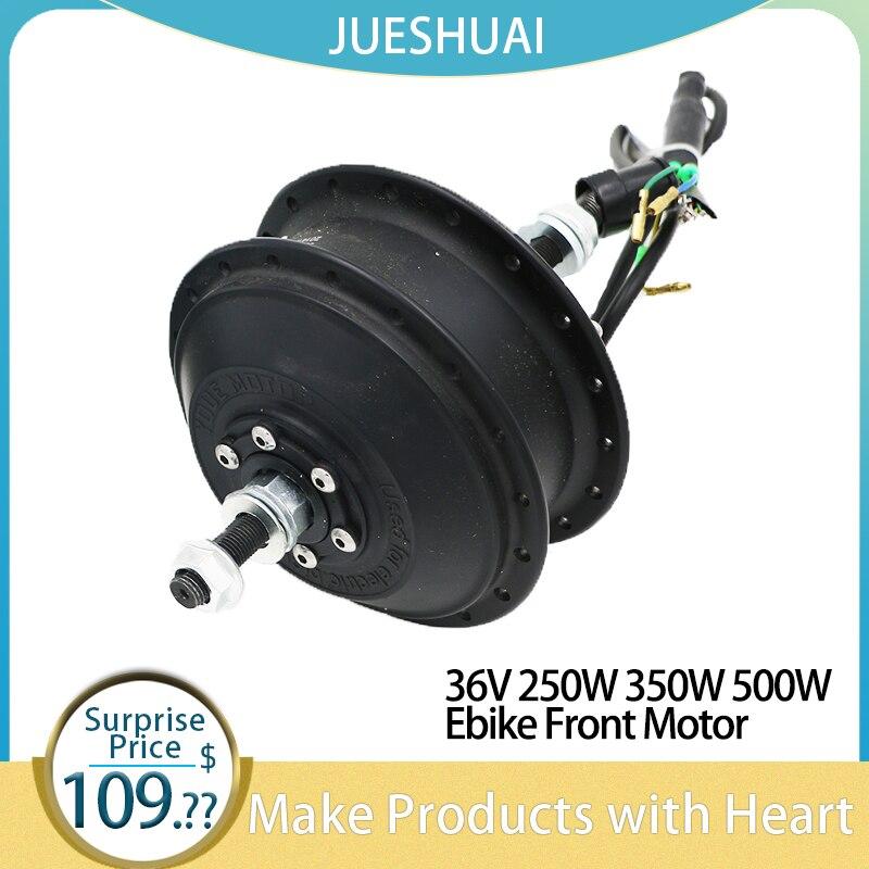 "Ebike Hub Motor 36V 250W 350W 500W Cassette Electric Bike Hub Motor 20""24""26""27.5""29""700C Front Wheel Drive bicicleta eletrica"