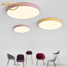 LED Ceiling Light Modern Panel Lamp Lighting Fixture Living Room Bedroom Kitchen Surface Mount Flush Remote Control