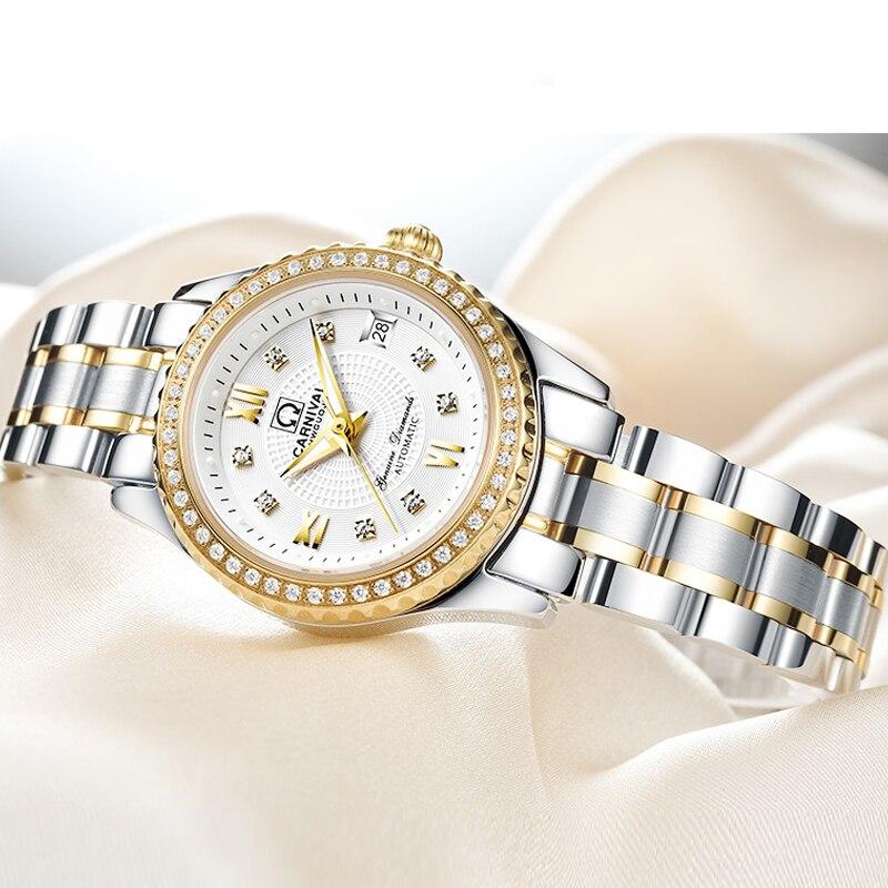 Часы наручные женские механические швейцарские роскошные брендовые