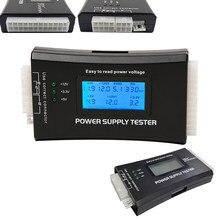 Ferramenta de diagnósticos para computador, testador de medição de alimentação elétrica com tela LCD 20/24 pinos
