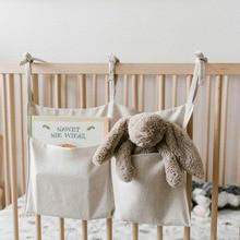 Bag Bed-Organizer Nursery-Storage Diaper Baby Crib for Bedsides-Decor Cot