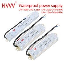 Schalt Netzteil Adapter LPV-10w 20w 30w dc 12V 24V konstante druck wasserdicht kunststoff Led-treiber transformator Ip67 ac dc